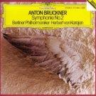 anton bruckner symphonie no.2 - berliner philharmoniker + karajan CD 1982 polydor DG