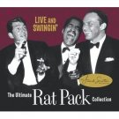 ultimate rat pack collection - live and swinin' CD + DVD 2-disc 2003 reprise used