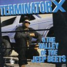 terminator x & the valley of the jeep beets CD 1991 RAL sony 13 tracks used mint
