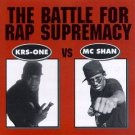 krs-one vs mc shan - battle for rap supremacy CD 1996 cold chillin' 11 tracks used mint