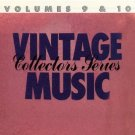 vintage music collectors series volumes 9 & 10 - various artists CD 1986 MCA 20 tracks