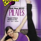 crunch - pick your spot pilates - ellen barrett DVD 2002 anchor bay new