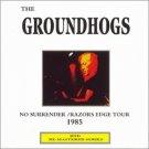 groundhogs - no surrender / razors edge tour 1985 CD 1998 HTD new import
