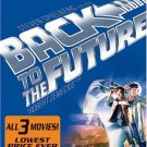 back to the future complete trilogy DVD 3-disc set full screen 2002 universal used mint