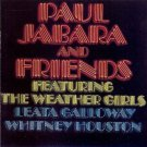 paul jabara & friends featuring weather girls, leata galloway, whitney houston CD 1983 sony