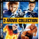 fantastic 4 + rise of the silver surfer DVD 2-movie collection used mint