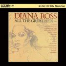 diana ross - all the great hits CD 24-bit 100kHz mastering 2011 motown universal used