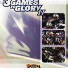 3 games to glory II - 2003 new england patriots super bowl xxxviii DVD 2004 NFL new