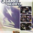3 games to glory II - 2003 new england patriots super bowl xxxviii DVD 2004 NFL new