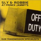 sly & robbie at prince jammy's - dub transmission specialists CD 2-discs 2002 burning bush 20 tracks