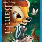 bambi - diamond edition bluray + dvd 2011 disney used mint