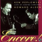 howard alden + ken peplowski - live at centre concord CD 1995 concord jazz new