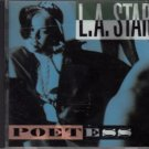 L.A. star - poetess CD 1990 profile 10 tracks used mint