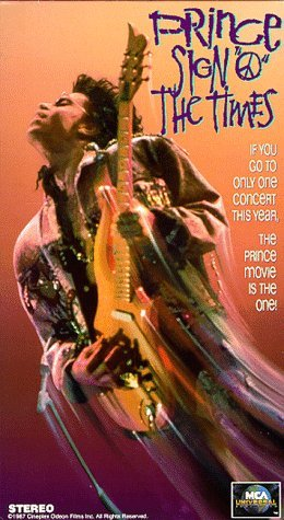 prince - sign o the times vhs 1988 MCA home video 85 minutes used