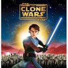 star wars - the clone wars BLURAY 1-disc 2008 warner home video used mint