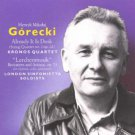 henryk mikolaj gorecki - already it is dusk + lerchenmusik - kronos quartet CD 1991