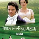 pride and prejudice - colin firth + jennifer ehle DVD 2-discs 2010 A&E used mint