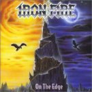 iron fire - on the edge CD 2001 sanctuary noise 12 tracks used mint