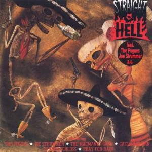 straight to hell - original soundtrack recording CD 1987 enigma 11 tracks used mint