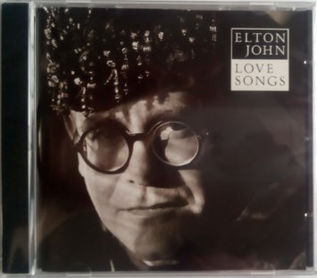 elton john - love songs CD 1991 pickwick international 15 tracks used mint