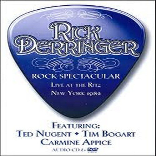 rick derringer - rock spectacular live at the ritz new york 1982 DVD 2010 store for music