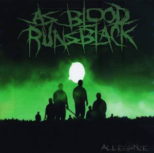 as blood runs black - allegiance CD 2006 mediaskare CD 10 tracks used mint