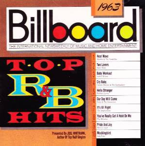 billboard top R&B hits 1963 - various artists CD 1989 rhino 10 tracks used mint