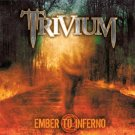 trivium - ember to inferno CD 2005 lifeforce 15 tracks used mint