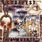 gorefest - la muerte CD 2006 nuclear blast 12 tracks used