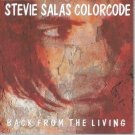 stevie salas colorcode - back from the living CD 1995 pavement 12 tracks used mint
