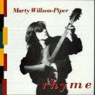 marty willson-piper - rhyme CD 1989 rykodisc 12 tracks used mint