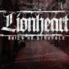 lionheart - built on struggle CD 2011 mediaskare 13 tracks used mint