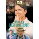 what the deaf man heard - matthew modine DVD 2000 hallmark used mint