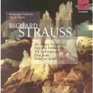 richard strauss - alpine symphony etc - minnesota orchestra w/ waart 2CDs 1998 virgin used mint