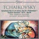 tchaikovsky symphony no.6 / festival overture 1812 - tbilisi symphony orchestra + kakhidze CD 1996