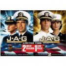 JAG complete first and second seasons DVD 10-discs 2006 CBS paramount new