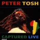 peter tosh - captured live CD 1984 EMI capitol 7 tracks used mint