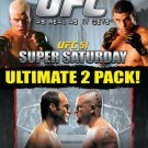 Ultimate Fighting Championships Vol 51 Super Saturday + Vol 52 Randy Couture vs Chuck Liddell 2DVDs