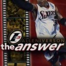 NBA - Allen Iverson - the answer DVD 2002 NBA Warner used mint