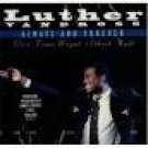 luther vandross - always and forever live from royal albert hall CD single 1994 sony 4 tracks