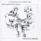arlo guthrie / pete seeger - precious friend CD 1982 warner 13 tracks used
