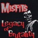 misfits - legacy of brutality CD caroline records hell bent music 13 tracks used