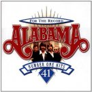 alabama - for the record: 41 number one hits HDCD 2-discs 1998 RCA 44 tracks used mint