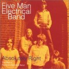five men electrical band - absolutely right CD 1995 mercury polydor 15 tracks used mint