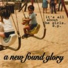 new found glory - it's all about the girls CD EP 5 tracks fiddler records used mint