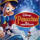 pinocchio - 70th anniversary platinum edition DVD 2-disc set 2009 disney used mint