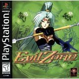 evil zone - playstation 1 titus 1999 Teen used mint