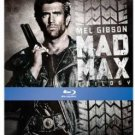 mad max trilogy - mad max / road warrior / mad max beyond the thunderdome bluray metal case new