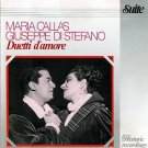 maria callas + giuseppe di stefano - duetti d'amore CD 1987 historic recordings DP japan 7 tracks