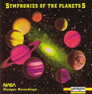 symphonies of the planets 5 - nasa voyager recordings CD 1992 delta laserlight used mint